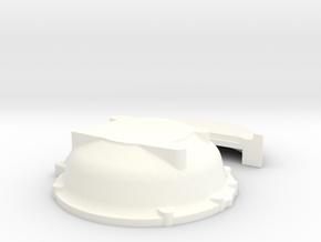1/16 Buick Nailhead Bellhousing For Muncie Trans in White Processed Versatile Plastic