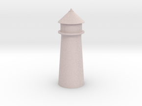 Lighthouse Pastel Light Pink in Full Color Sandstone