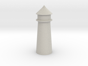 Lighthouse Pastel Gray in Full Color Sandstone