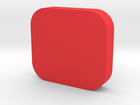 Hero5 and Hero 6 Lens Cap in Red Processed Versatile Plastic