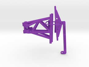074002-01 Grasshopper 2 Double Wishbone Front End in Purple Strong & Flexible Polished