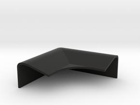 Lotus Elan M100 windscreen corner cap in Black Natural Versatile Plastic
