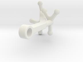ARM-2-V2 in White Natural Versatile Plastic