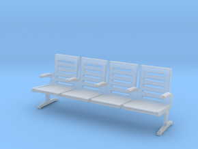 Modern Seat - OO Scale in Smooth Fine Detail Plastic