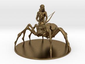 Drider Miniature in Natural Bronze: 1:60.96