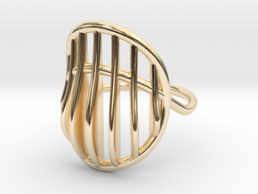 Ring The Mad Max / size 10GK 5US ( 16.1 mm) in 14K Yellow Gold