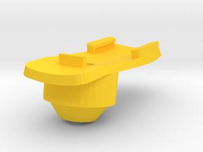 Garmin Stem cap Mount H10D10 in Yellow Processed Versatile Plastic
