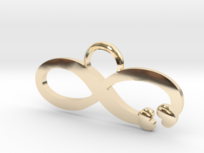 Love is Infinite in 14K Yellow Gold: Large