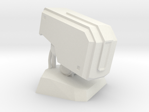 Bastion Head Bust in White Strong & Flexible