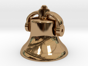Bell in Polished Brass