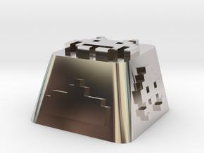 Space Invader in Platinum