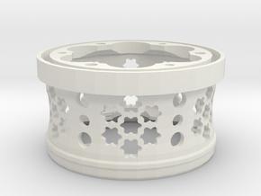 2.2 axial beadlock widener in White Natural Versatile Plastic