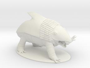 Bulette Miniature in White Natural Versatile Plastic: 1:60.96