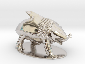 Bulette Miniature in Platinum: 1:60.96
