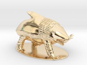Bulette Miniature in 14k Gold Plated Brass: 1:60.96