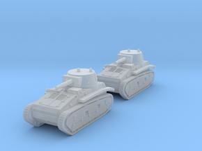 1/288 Leichttraktor Rheinmetall (x2) in Smooth Fine Detail Plastic