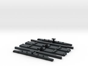 Virginia & Truckee Baggage #1 and #2 Details in Black Hi-Def Acrylate