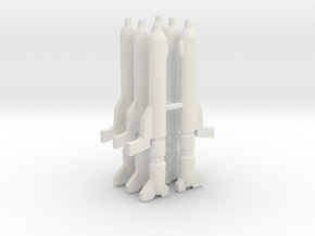 Gunpods 1/285 in White Natural Versatile Plastic