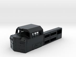 SD70ACe BB Cab 1:87 in Black Hi-Def Acrylate