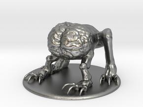 Intellect Devourer Miniature in Natural Silver: 1:60.96