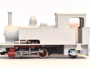 "WHR Ltd. Bagnall 3050 ""Gelert"" (009 Scale) in Smooth Fine Detail Plastic"