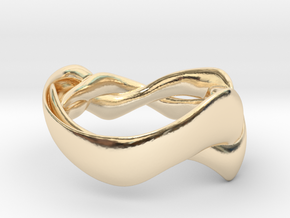 Smooth Weave Ring in 14K Yellow Gold: 5 / 49