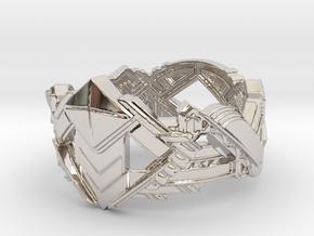 Art Deco Ring #1 in Platinum: 5 / 49