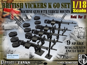 1-18 Vickers K GO SET in Frosted Ultra Detail