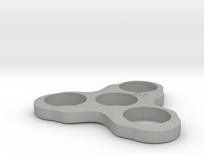 Fidget Spinner in Raw Aluminum