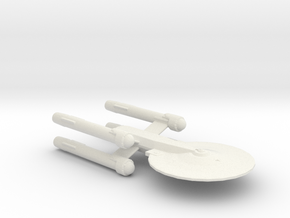 USS Damascus in White Natural Versatile Plastic