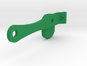Open 5.00 Clip Smoteur Droit in Green Strong & Flexible Polished