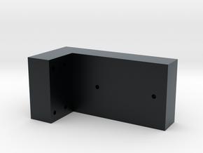 Sherman Bogie Drilling Jig in Black Hi-Def Acrylate: 1:35