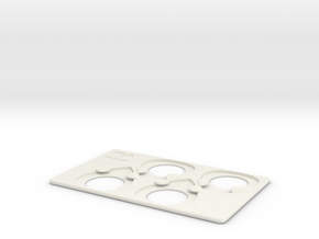 Pick Pocket in White Natural Versatile Plastic