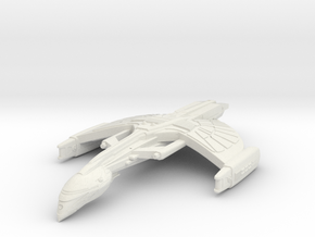 WarRock Class WarBird   BattleCruiser in White Natural Versatile Plastic