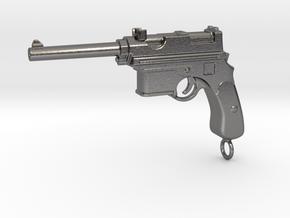 Mannlicher Gun 1903 Paperweight in Polished Nickel Steel