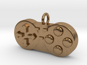 Controller Charm in Natural Brass