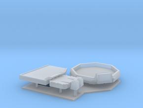 1:96 Burke Class Gun Details (DDG) in Smooth Fine Detail Plastic