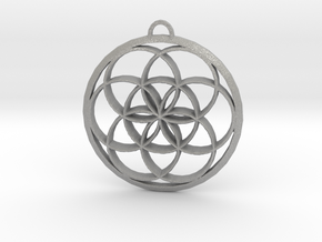 Seed Of Life in Aluminum: Large