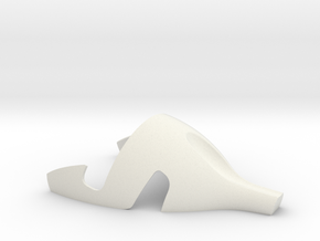 I-phone7 Stand in White Natural Versatile Plastic