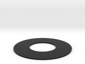 SIMA Lens Stop in Black Natural Versatile Plastic: Small