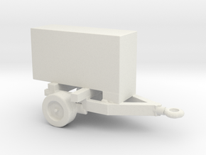 1/200 Generator 2 Trailer in White Natural Versatile Plastic