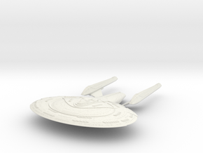 Winchester Class  BattleCruiser in White Natural Versatile Plastic