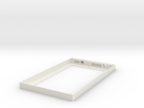 Wall Frame for Amazon Kindle Fire 7 in White Natural Versatile Plastic