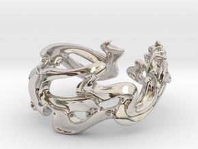 Calla Lilies Ring in Platinum: 5 / 49