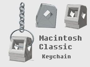 Apple Macintosh Classic Keychain in White Strong & Flexible