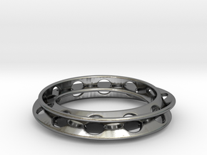 Moebius Rounded 12,5 in Polished Silver