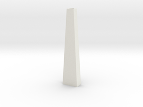 Pylon Wdw Single 10mm (HO) in White Natural Versatile Plastic
