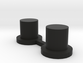 Up/Down Buttons for DNA75 & DNA200 Bezel in Black Natural Versatile Plastic
