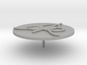 IHES Logo Lapel Pin in Aluminum