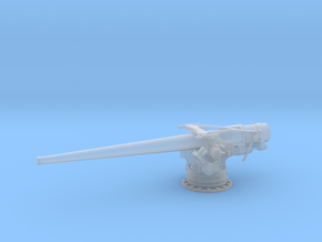 1/96 USN 5''/ 51 Cal. Deck Gun in Frosted Ultra Detail: 1:96